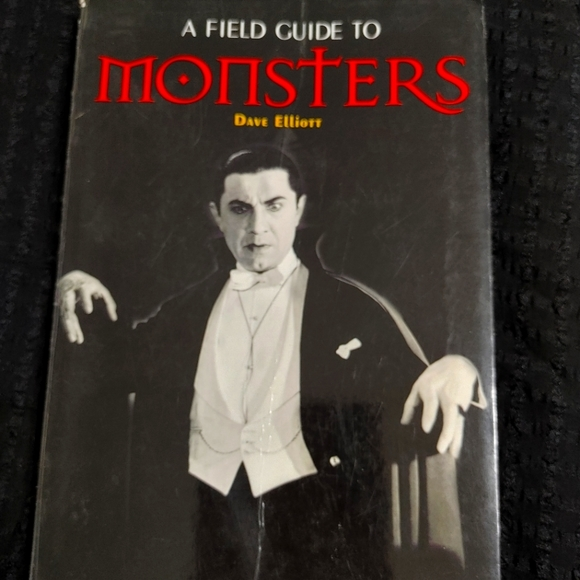 Hollywood Glossy Book of Monsters! FLAWLESS